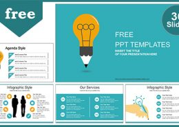 Free powerpoint templates design creative idea bulb powerpoint template list toneelgroepblik Images