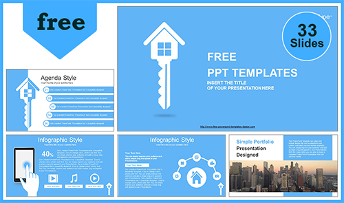 Free real estate powerpoint templates design toneelgroepblik Image collections