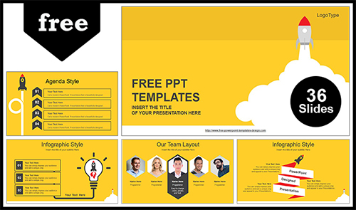 Rocket launched powerpoint template rocket launched powerpoint template list toneelgroepblik Gallery