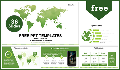 Free business powerpoint templates design flashek