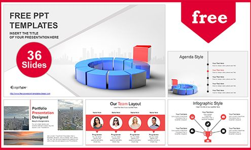 Free business powerpoint templates design leadership business powerpoint template list wajeb