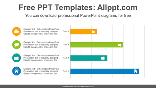 Horizontal bar chart powerpoint diagram template horizontal bar chart powerpoint diagram template list image ccuart Choice Image