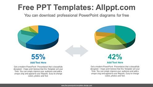 Free powerpoint charts design 3d pie charts powerpoint diagram template list image ccuart Gallery