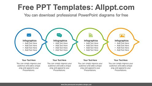 Free powerpoint flow and process diagrams circle connection flow powerpoint diagram template list image ccuart Choice Image