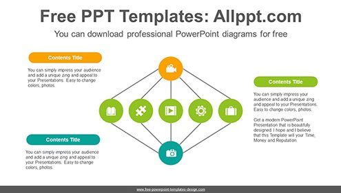 Free powerpoint cycle diagrams colorful circular powerpoint diagram template list image ccuart Gallery