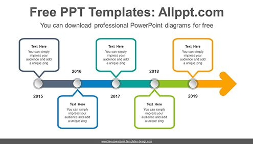 Free powerpoint timeline diagrams dot point arrow powerpoint diagram template list image toneelgroepblik Gallery