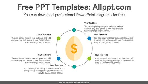 Free powerpoint cycle diagrams radial gold egg powerpoint diagram template list image ccuart Gallery