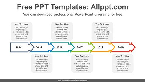 Free powerpoint timeline diagrams text box arrow powerpoint diagram template list image toneelgroepblik Images