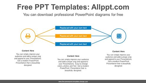 Free powerpoint relationship diagrams comparison powerpoint diagram template two circle powerpoint diagram template list image maxwellsz